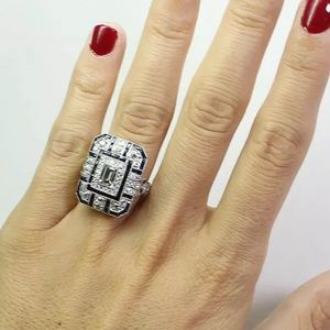 Jewelry - Art Deco Crystal Ring